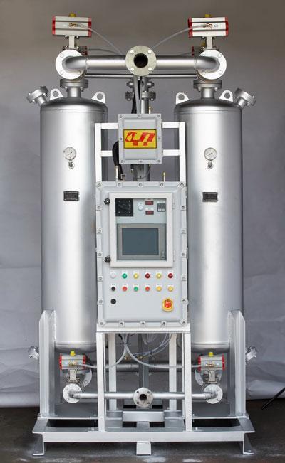 氫氣加熱型吸附式乾燥機